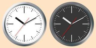 Изображения настенных часов Принципиальная схема времени мира Стоковые Фото