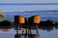 Изображения образа жизни курорта и курорта залива Westin Turtal в Маврикии Стоковое Фото