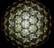 Изображения отражения внутри призмы треугольника Стоковые Изображения RF