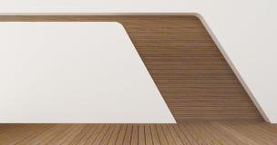 Изображения перевода стены 3d дизайна интерьера Стоковая Фотография RF
