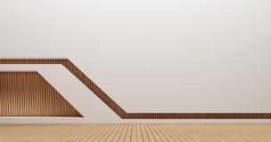 Изображения перевода стены 3d дизайна интерьера Стоковое фото RF