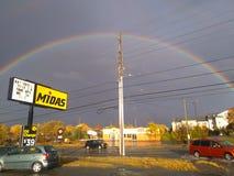 Изображения радуги стоковое изображение