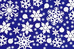 изображения рождества предпосылки больше моей снежинки портфолио стоковое изображение rf