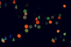 изображения рождества освещают больше моего вала портфолио Стоковое Изображение RF