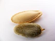 Изображения самых красивых и самых свежих семян тыквы Стоковые Изображения