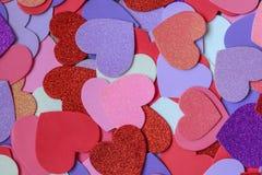 изображения сердец сердца предпосылки тусклые Стоковое фото RF