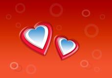 изображения сердец сердца предпосылки тусклые Стоковое Изображение RF