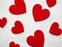 изображения сердец сердца предпосылки тусклые Стоковая Фотография RF