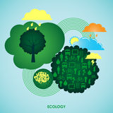 изображения экологичности принципиальной схемы еще многие мое портфолио Стоковые Фото