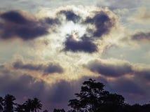 изображения f16 затмения диска одуванчика апертуры vignetting солнца близкого угловойого естественный сильный Стоковые Изображения