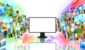 изображения tv иллюстрация вектора