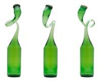 изогнутая бутылка Стоковые Изображения RF