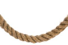 изогнутая веревочка изолированная рамкой