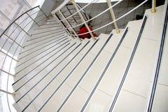 изогнутая лестница Стоковые Фотографии RF