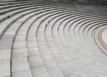 Изогнутая предпосылка лестницы Стоковая Фотография