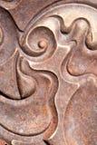 Изогнутая спиральная вертикаль дизайна Стоковое Фото