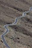 изогнутая дорога Стоковые Фото