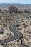 изогнутая дорога Стоковые Изображения