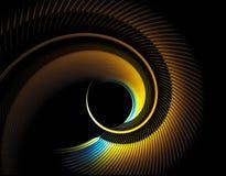 изогнутое перо Стоковая Фотография RF
