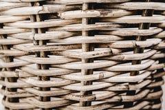 Изогнутые линии картина в корзине Стоковая Фотография
