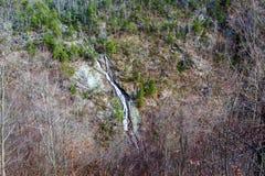 Изогнутые падения горы, Roanoke County, Вирджиния, США Стоковое фото RF