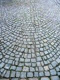 изогнутые cobbles Стоковые Изображения