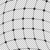 Изогнутый вид решетки, предпосылка вектора Стоковая Фотография