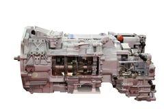 Изолированная автоматическая передача тяжелой тележки Стоковая Фотография