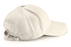 изолированная бейсбольная кепка Стоковое фото RF