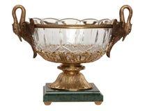 изолированная белизна вазы Стоковое Фото
