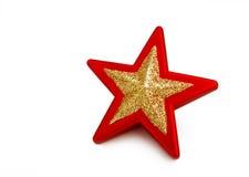 изолированная белизна звезды Стоковое Изображение RF