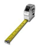 изолированная белизна ленты измерения Стоковая Фотография