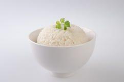 изолированная белизна риса Стоковые Фотографии RF