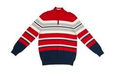 изолированная белизна свитера теплая Стоковое Изображение
