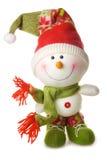 изолированная белизна снеговика Стоковые Изображения