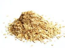 изолированная белизна oatmeal Стоковое фото RF