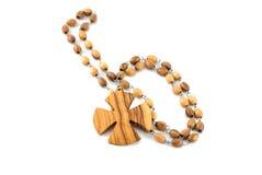 изолированная белизна rosary Стоковое Изображение RF
