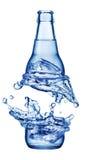 Изолированная бутылка цвета Стоковая Фотография RF