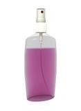 изолированная бутылкой жидкостная розовая белизна брызга Стоковое Изображение RF