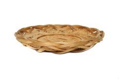 изолированная верба плиты Стоковая Фотография RF