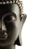 изолированная головка Будды Стоковая Фотография