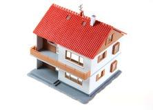 изолированная дом Стоковые Изображения RF