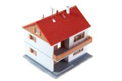 изолированная дом Стоковое Фото