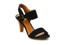 изолированная женщина ботинка Стоковые Изображения RF