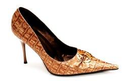 изолированная женщина wh ботинок стоковое фото rf