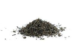 изолированная зеленым цветом белизна чая Стоковое Изображение RF