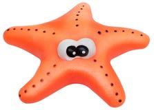 изолированная игрушка starfish стоковое изображение