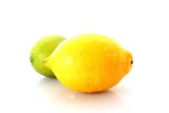 изолированная известка лимона Стоковая Фотография