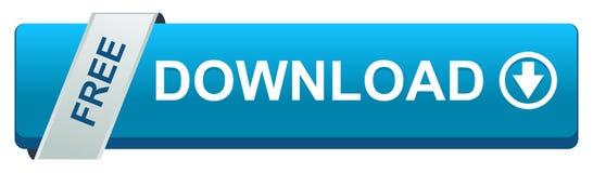 Изолированная кнопка сети бесплатной загрузки бесплатная иллюстрация