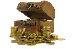 изолированная комодом белизна сокровища стоковое изображение